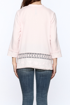 Plenty by Tracy Reese Pink Peasant Blouse - Alternate List Image