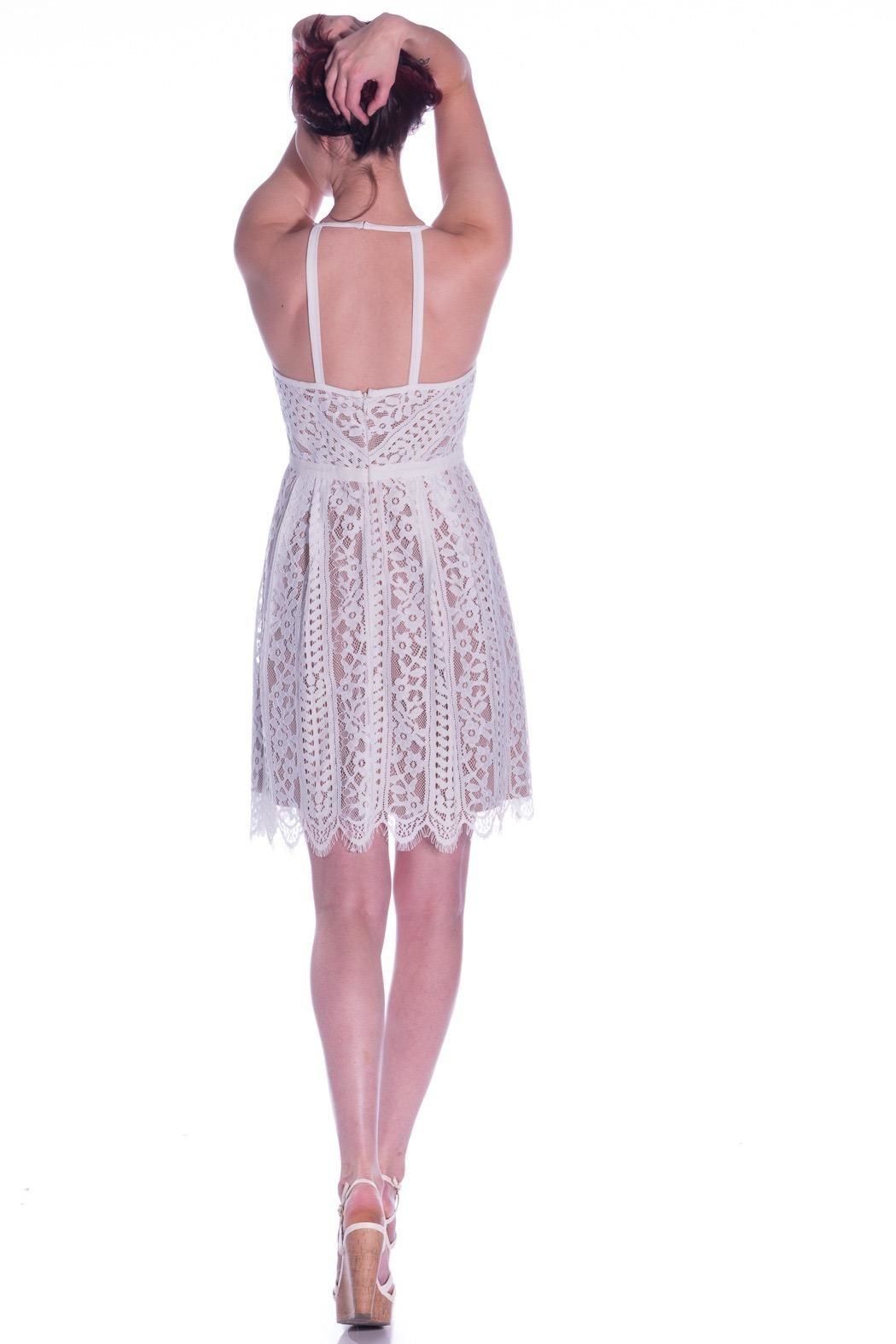 Plenty by Tracy Reese Angelic Lace Dress - Side Cropped Image