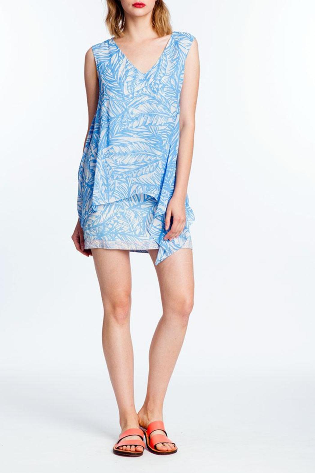 Plenty by Tracy Reese Flyaway Shift Dress - Front Cropped Image