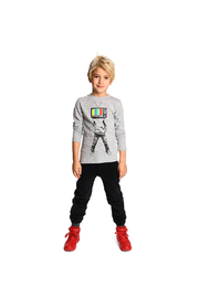 Appaman Plugged In Graphic Tee - Side cropped