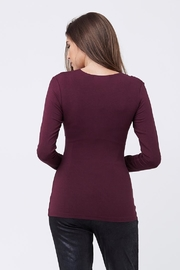 Ripe Maternity Plum Embrace Top - Back cropped