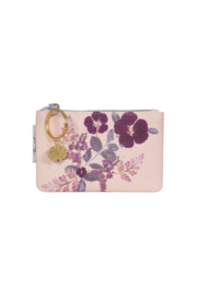 PAPAYA! Plum Leaves Coin Purse - Product Mini Image