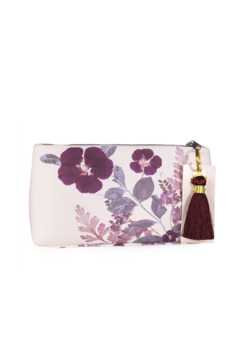PAPAYA! Plum Leaves Small Tassel Pouch - Product List Image
