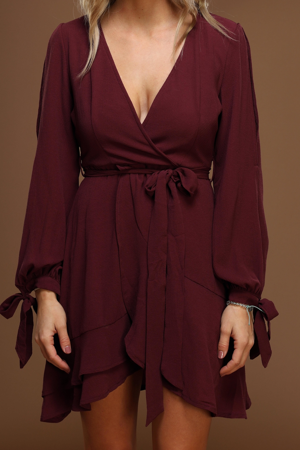 9a59a66024f18 She + Sky Plum Mini Dress from Pennsylvania by Compass Rose Boutique ...