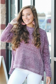 She + Sky Plum Perfect Sweater - Product Mini Image