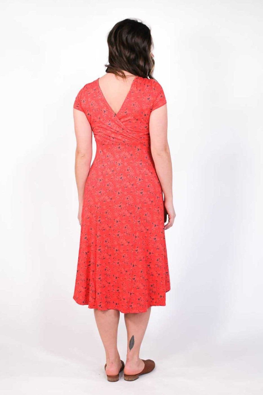 Plume and Thread Rory Floral Dress - Front Full Image
