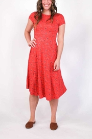 Plume and Thread Rory Floral Dress - Front cropped