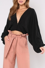 Do & Be Plunge Neck Crop Top - Product Mini Image