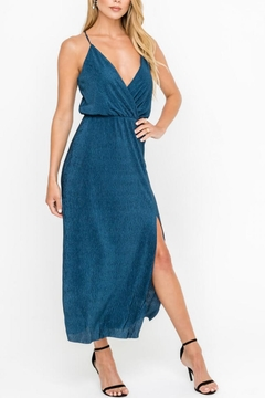 Lush Clothing  Plunging Cocktail Dress - Product List Image