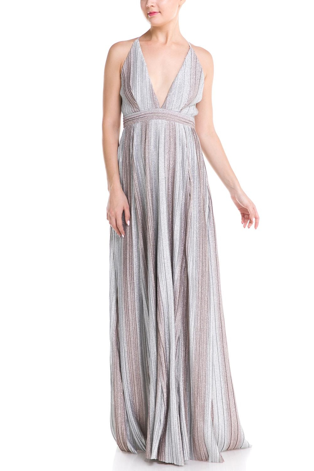 a7c97ce28b luxxel Plunging Maxi Dress from New York by Dor L Dor — Shoptiques