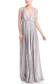 luxxel Plunging Maxi Dress - Product Mini Image