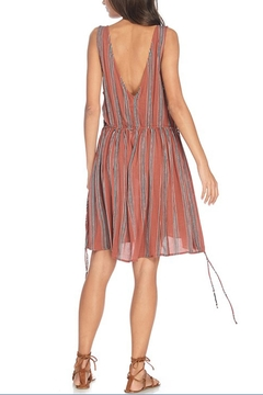 Anama Plunging Striped Dress - Product List Image