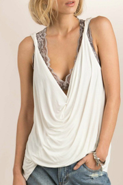 POL Plungng Twist Tank Top - Product Mini Image