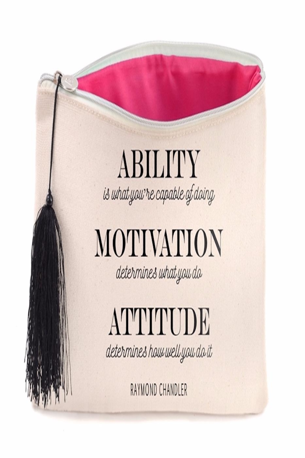 B Plus Printworks Ability Cosmetics Bag - Front Full Image