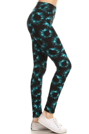 New Mix Plus Greenprint Legging - Front cropped