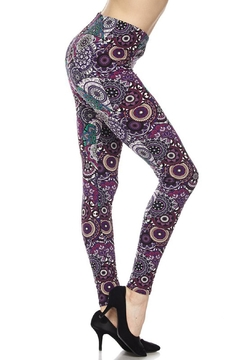 New Mix Plus Purp Legging - Alternate List Image