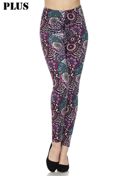 New Mix Plus Purp Legging - Product List Image