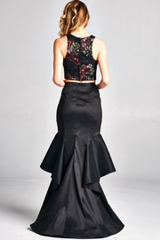 Goldspark Plus-Size 2pc Prom - Front full body