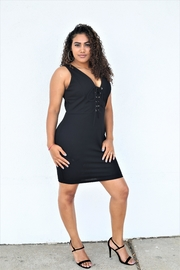 Tasha Apparel Plus Size Dress - Product Mini Image