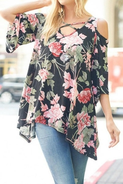 Lovely J Plus Size Floral - Product List Image