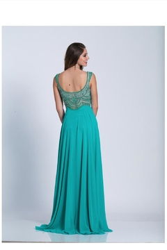 Dave and Johnny Plus Size Gown - Alternate List Image