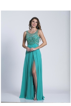 Dave and Johnny Plus Size Gown - Product List Image