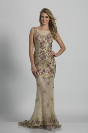 Dave and Johnny Plus Size Gown - Product Mini Image
