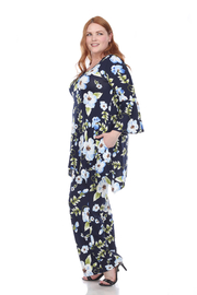 WhiteMark Plus Size Head to Toe Printed Set - Front full body