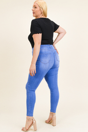 MONTREZ Plus size high rise skinny jeans - Other