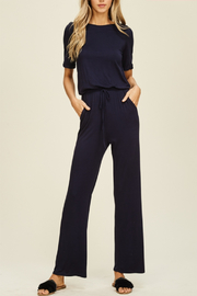 annebelle Plus Size Knit Jumpsuit - Product Mini Image