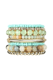 Riah Fashion Plus-Size-Stackable-Beads Bracelet Set - Product Mini Image
