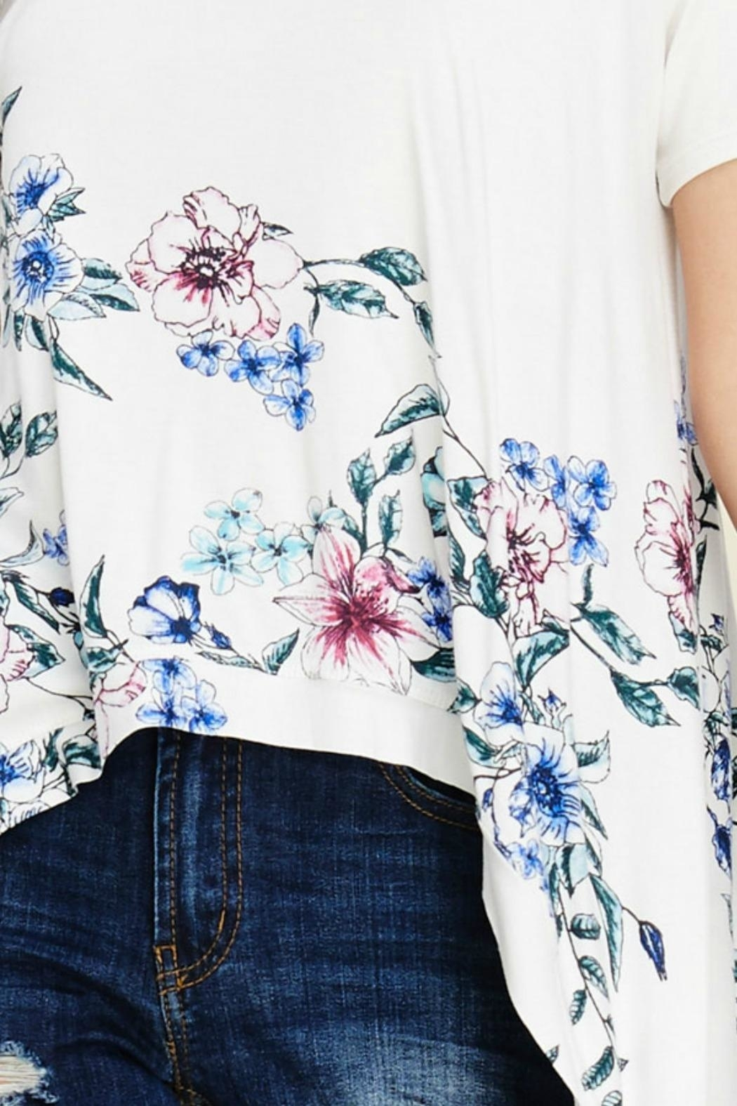 annabelle Plus Size Top - Front Full Image