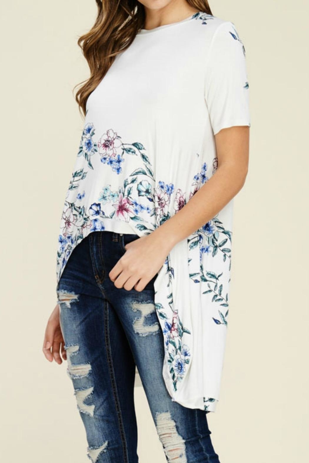 annabelle Plus Size Top - Side Cropped Image
