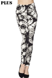 New Mix Plus Tye-Dye Legging - Product Mini Image