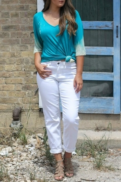 Shoptiques Product: Plus White Denim