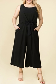 Lux Clothing Plus Wide-Leg Jumper - Front cropped