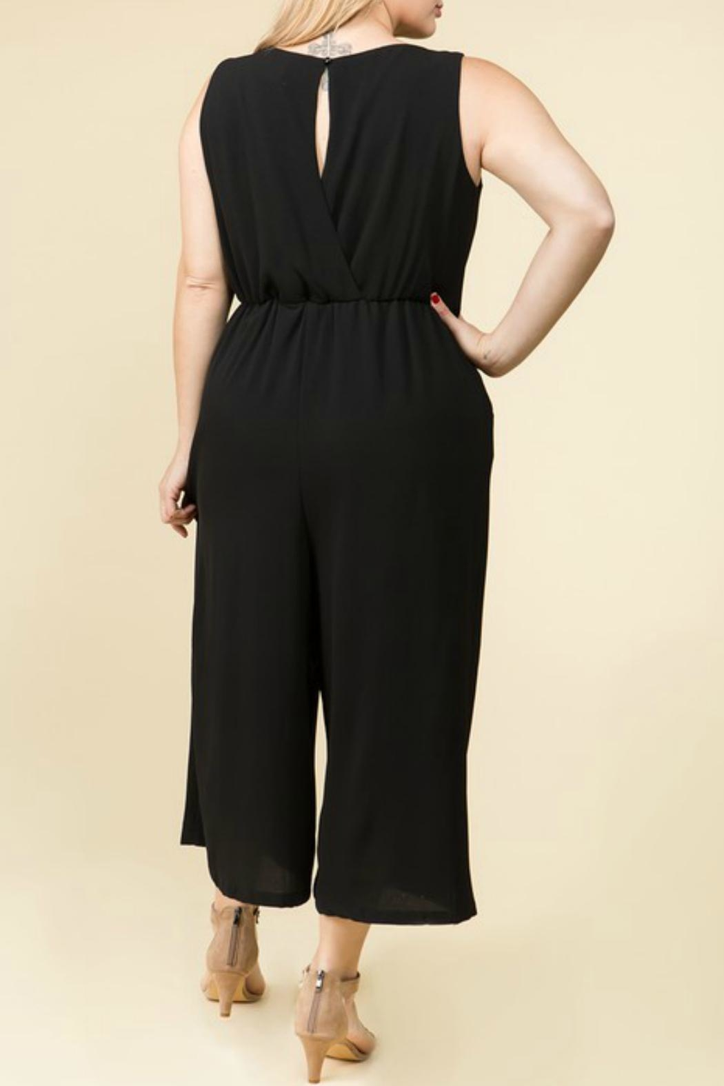 Lux Clothing Plus Wide-Leg Jumper - Front Full Image