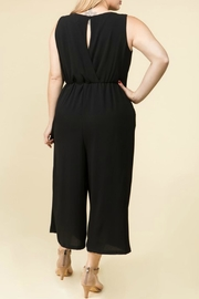 Lux Clothing Plus Wide-Leg Jumper - Front full body