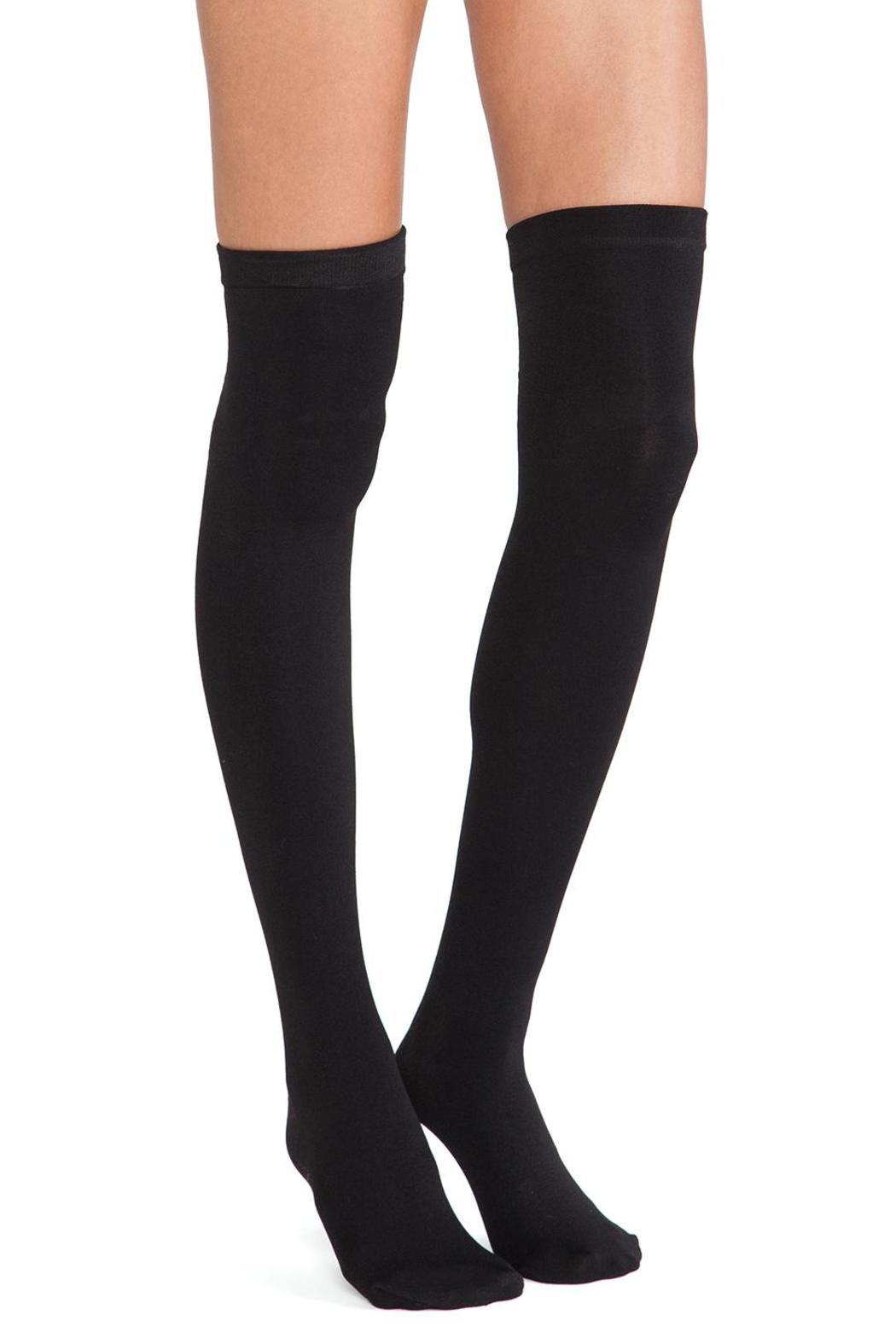 aa9a598ee99 Plush Fleece Thigh-High Socks from Chicago by KOVET Boutique ...