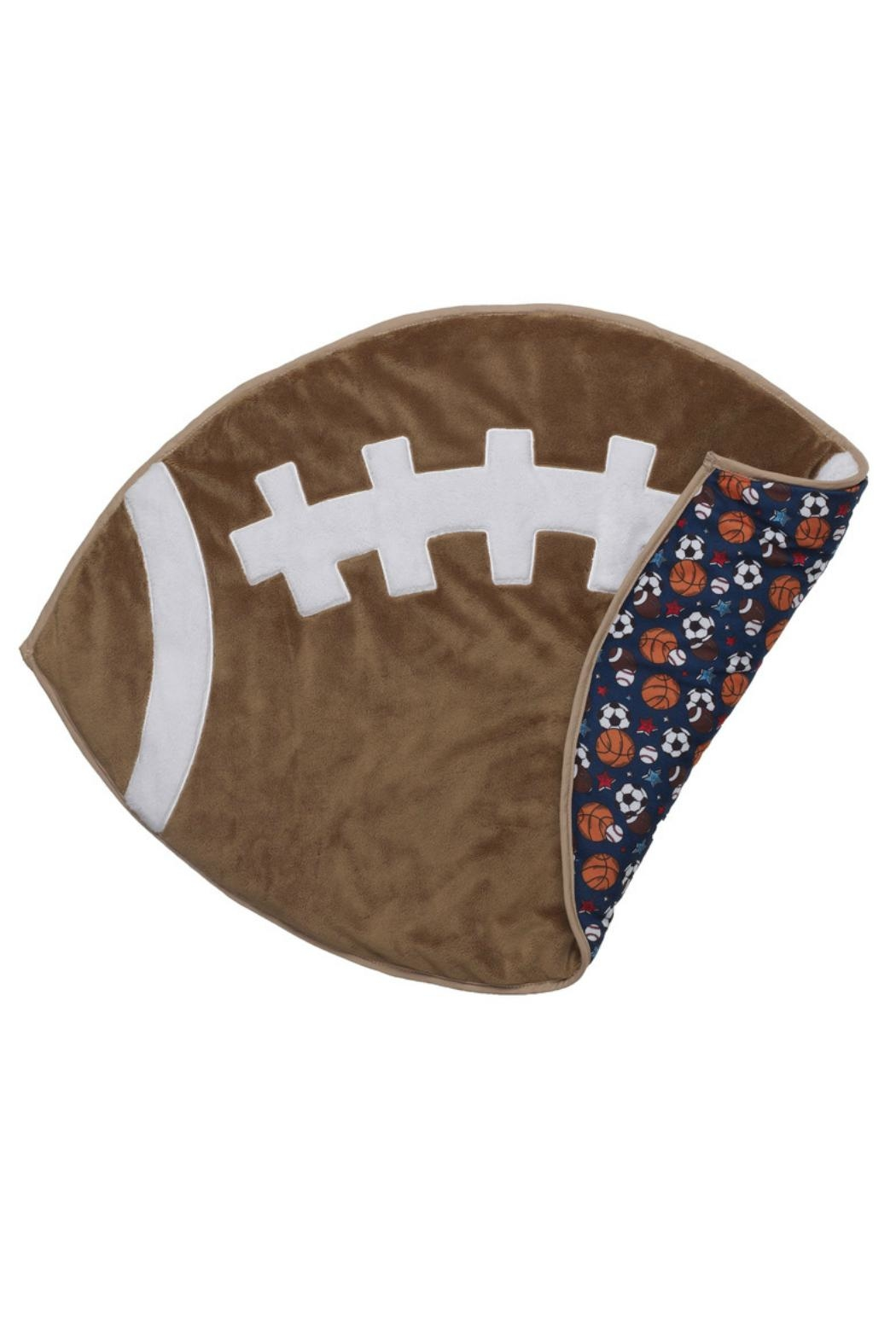 Ganz Plush Football Play-Mat - Front Cropped Image