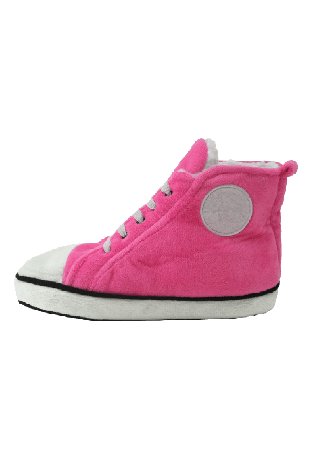 Iscream Plush Hi Top Slippers - Side Cropped Image