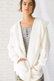 Hem & Thread Plush Hooded Jacket - Product Mini Image
