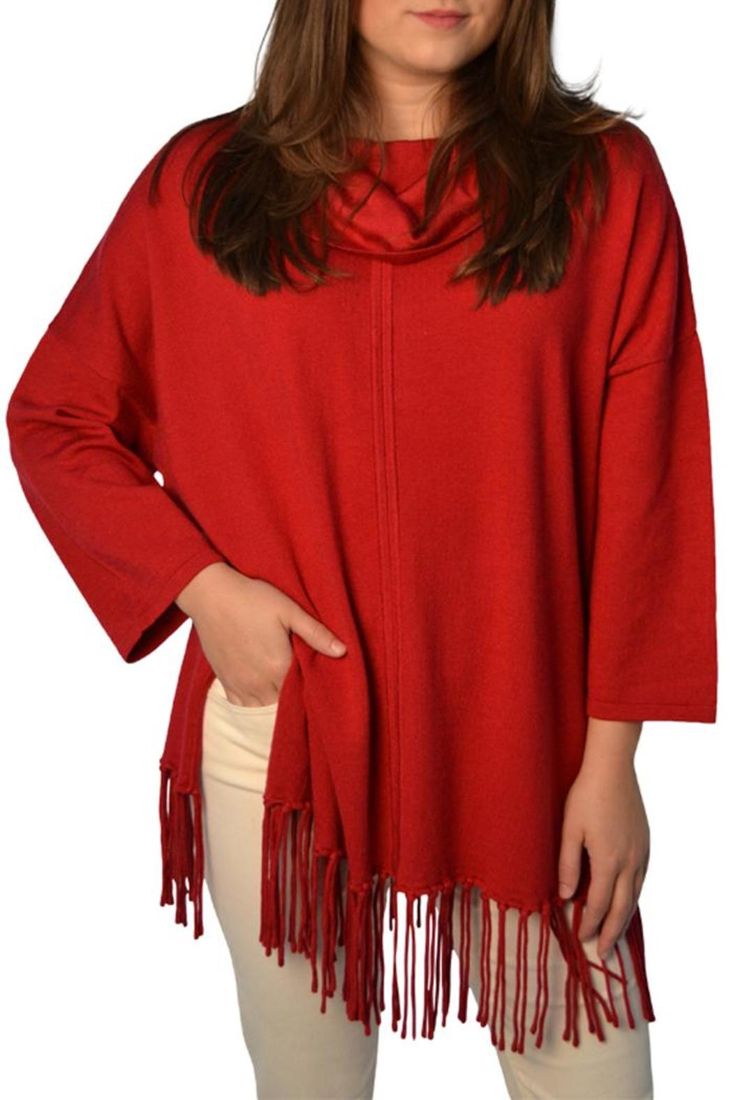 Poche 1913 Red Fringe Sweater from Lafayette by Brothers on the ...