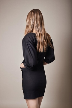 Smythe Pocket Black Dress - Alternate List Image