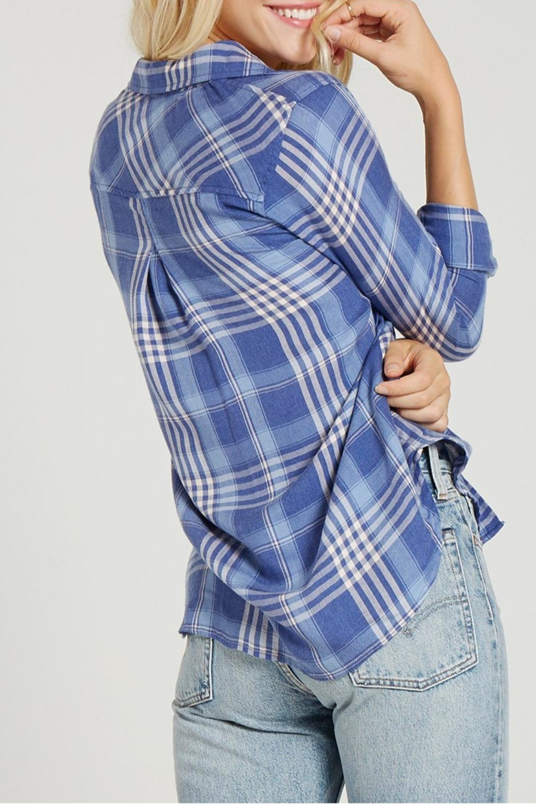 Bella Dahl Pocket Button Down - Front Full Image