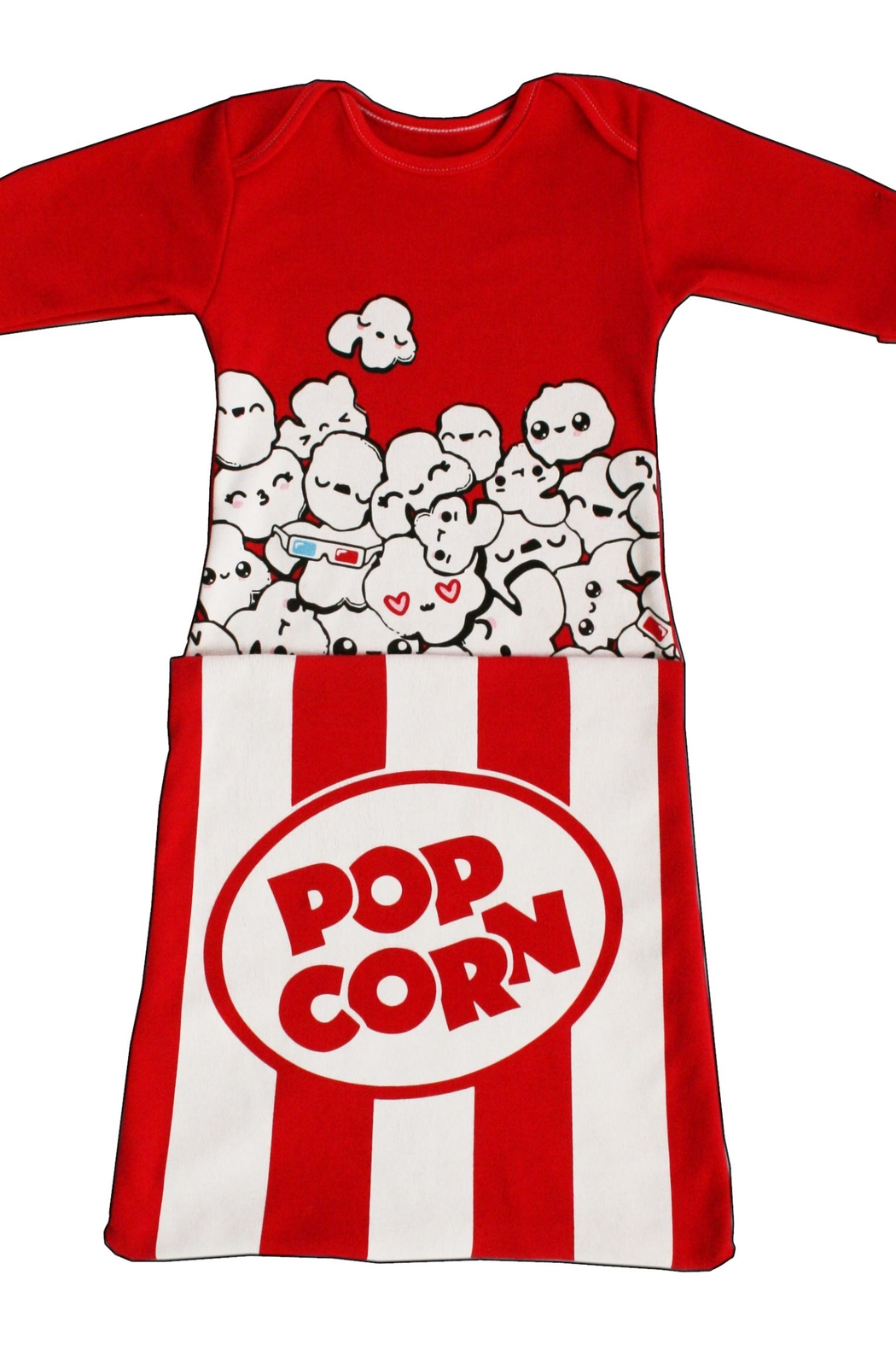 Electrik Kidz Pocket Gown - Popcorn - Main Image