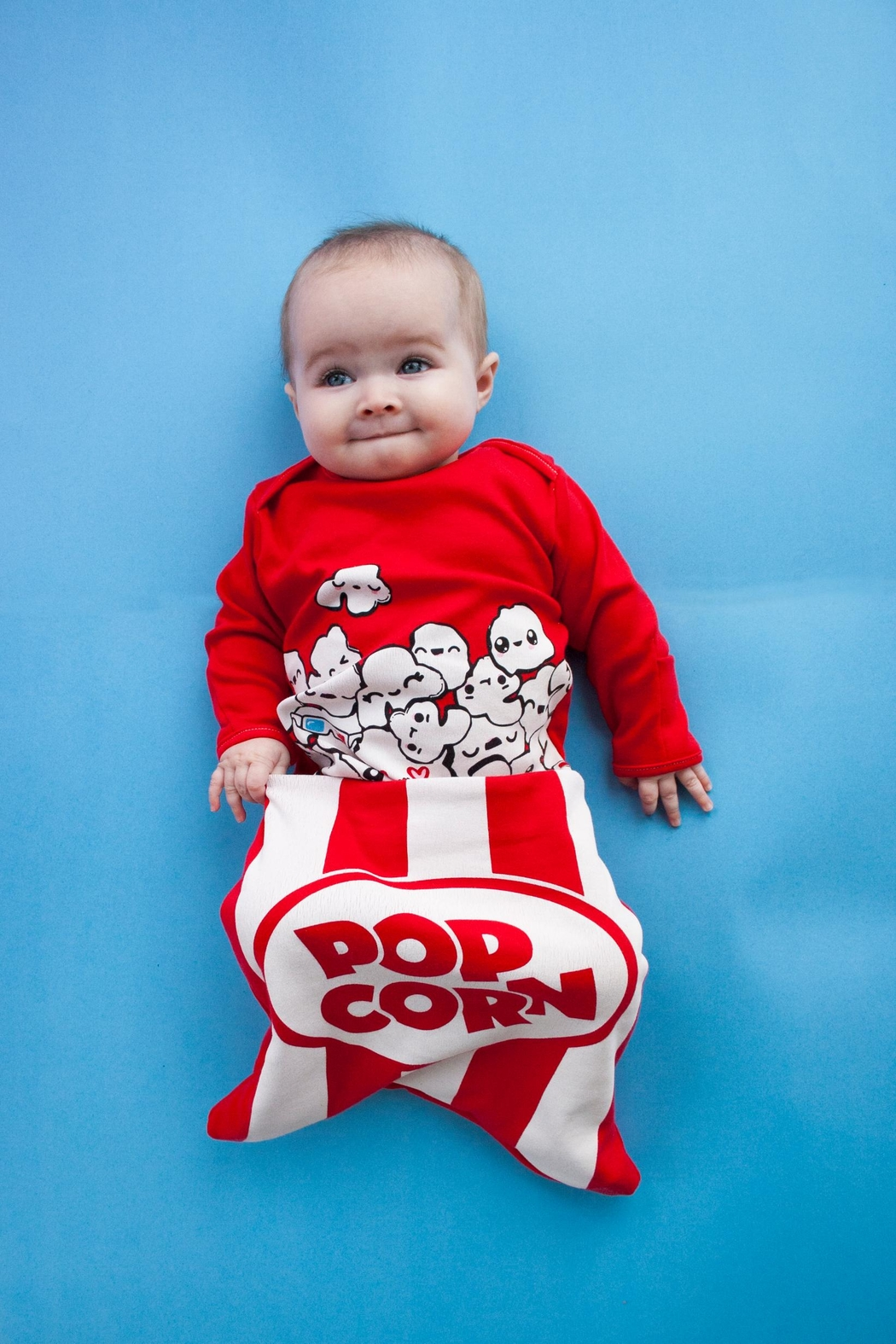 Electrik Kidz Pocket Gown - Popcorn - Side Cropped Image