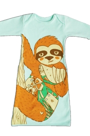 Electrik Kidz Pocket Gown - Sloth - Front full body