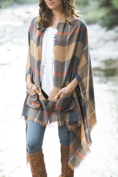 Grace & Lace Pocket Poncho Blanket-Scarf - Product List Image
