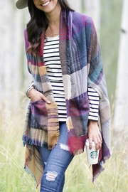 Grace & Lace Pocket Poncho/blanket Scarf - Product Mini Image